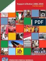 FSM DOCUMENTS DU CONGRES RAPPORT D' ACTION 2006 - 2010