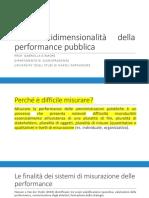 5. La multidimensionalità della performance