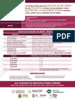 Actualizacion Xalapa Segunda Dosis