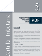 Capital propio tributario y patrimonio financiero