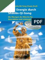 Andiamo A Studiare Mehr Energie Durch Shaolin-Qi Gong Von Robert Egger & Hartmut Zwick & Shi Yong Chuan & Sabine Knoll