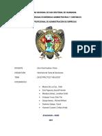 UNIVERSIDAD NACIONAL DE SAN CRISTÓBAL DE HUAMANGA  FODA