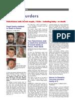 Samaria Itamar attack kills 5 Jews (16 page compilation)