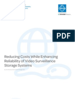 Reducing Costs While Enhancing Reliability of Video Surveillance Storage Systems