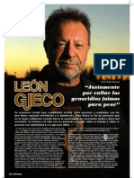 Entrevista a León Gieco
