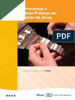 Sistema Firjan Processos Boas Praticas Setor Joias 2015
