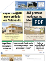 INFORMATIVO JORNAL CAPUL  - EDIÇÃO 122 - MARÇO DE 2011 - UNAÍ-MG