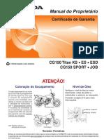 CG 150 Titan, Sport e Job 2007