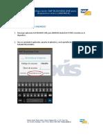 manual mobile sap configuracion android v1.0