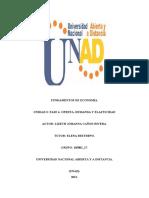 Unidad 3 Fase 4- Oferta, Demanda y Elasticidad