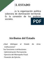 ESTRUCTURA Y FUNCIONAMIENTO ESTADO PERUANO