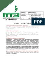 temario agroecologia
