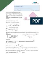 Miniteste 2- Conjunto dos números reais, IR