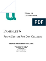 Pamphlet 6 piping systems for dry cl2