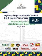 Agenda Legislativa Das Centrais Sindicais No Congresso Nacional - Prioridades Para 2021 Vida, Emprego e Democracia