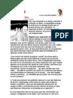 El Recuerdo- Por Gustavo Gorriti