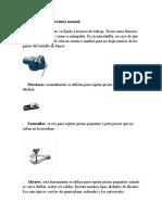 Herramientas de Mecánica Manual