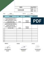 FR-SST-012 - Plan de Acción