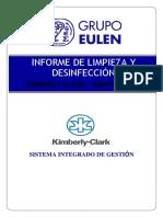 Informe de servicio Sanitización 01 KIMBERLY CLARK -SANTA CLARA 09-06-2020