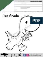 Evaluacion Mutigrado G @DinorganicRaw Preeescolar