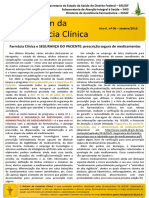 Boletim Farmacia Clinica SESDF - n.6 jan_2019 - prescricao segura