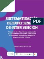 Sistematización experiencias