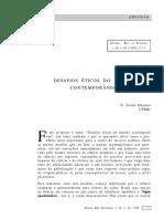 F. Javier Herrero - Desafios Éticos do Mundo Contemporâneo