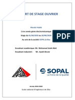 rapport stage ouvrier