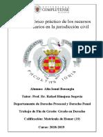Análisis teórico práctico de los recursos extraordinarios en la jurisdicción civil - ALIN IONUT BOEANGIU (1)