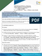 Guía de Actividades y Rúbrica de Evaluación - Unidad 1 - Tarea 2 - Dibujo a Mano Alzada