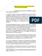 Contrataciones Dto 893-12 Síntesis de APUCP