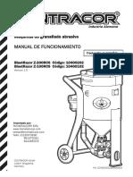 Manual Tolva granallado Contracor Blastrazor (Idioma Español)