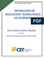 4. Diseño conceptual de la base de datos