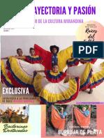 """Trayectoria y Pasión """"Sentir de la cultura mirandina"""""""