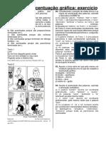 ENEM - ACENTUAÇÃO GRÁFICA - EXERCÍCIO