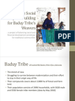 Social Enterprise Building for Baduy Weavers