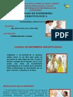Cuidados gerontolólicos