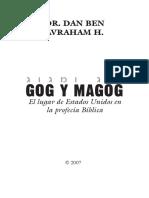 GOG Y MAGOG Rav. Dan Ben Avraham