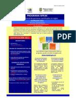Programa Ispeak 2011