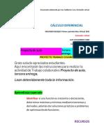 ACA Tercera entrega CÁLCULO DIFERENCIAL (1)