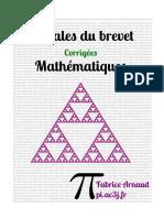 Brevet 2020 Maths