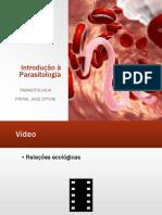 Aula 1 - Introdução à Parasitologia