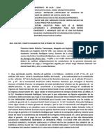 MODELO DE ENTREGA DE CERTIFICADO DE VIGENCIA DE PODER DE GERENTE