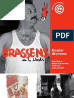 Dossier de Presse exposition Brassens