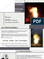 Ene Roxana 8B -Aluminotermia – Aplicații Practice