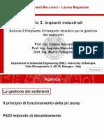 Impianti Meccanici M_modulo 3.5_Impianto di trasporto idraulico per la gestione di sedimenti_v01