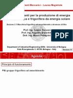 Impianti Meccanici M_modulo 2.1_Macchina frigorifera ad assorbimento_v33