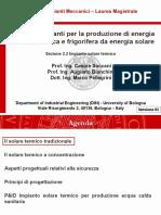 Impianti Meccanici M_modulo 2.2_Solare termico_v02