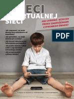 broszura dzieci w wirtualnej sieci 2021
