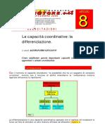 capacità coordinative - differenziazione